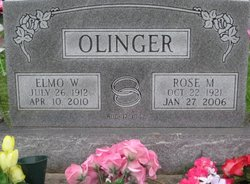 Rose Mary <I>Kleiss</I> Olinger