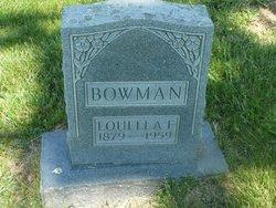 Louella F <I>Click</I> Bowman