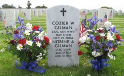"Cozier Wellington ""Gil or Co"" Gilman, Jr"