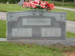Hazel Louise <I>Hatcher</I> Boone