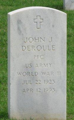 John J Deroule