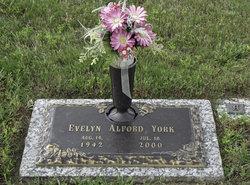 Evelyn <I>Alford</I> York