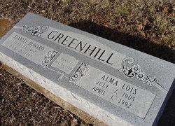 Alma Lois <I>Coggin</I> Greenhill