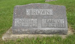 Martha Emily <I>Jordan</I> Brown