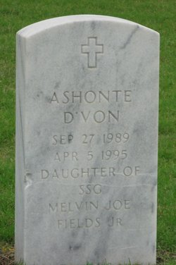 Ashonte D Von Fields