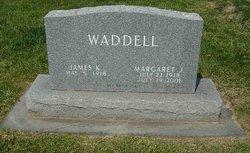 Margaret J. <I>Edwards</I> Waddell