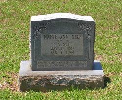 Nanie Ann <I>Caswell</I> Self