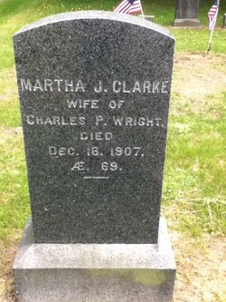 Martha Jane Clarke Wright (1837-1907) - Find A Grave Memorial