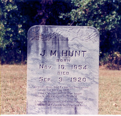 "James Monroe ""Jim"" Hunt"