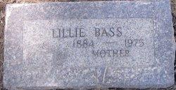 Lillie B <I>Merrill</I> Bass