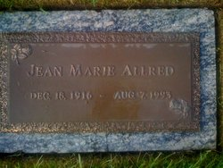 Jean Marie <I>Anderson</I> Allred