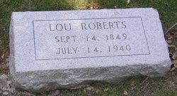 "Luvenia ""Lou"" <I>Conway</I> Roberts"