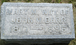 Mary McCord <I>Johnson</I> Barr