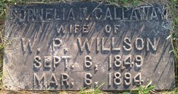 Cornelia R. <I>Calloway</I> Willson