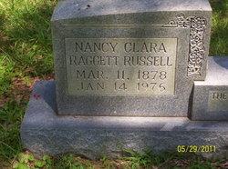 Nancy Clarabell <I>Raggett</I> Russell