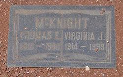 Thomas E McKnight