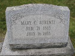 Mary A <I>Cassel</I> Aurentz