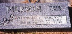 Hazel <I>White</I> Pierson