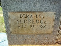 Dema Lee <I>Johnson</I> Aldredge