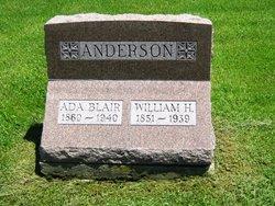 Ada <I>Blair</I> Anderson