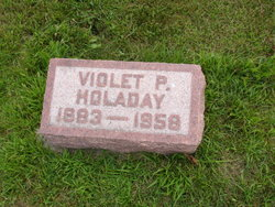 Violet <I>Patton</I> Holaday