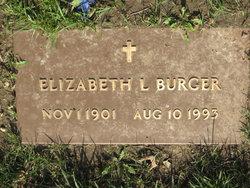 Elizabeth L <I>Jones</I> Burger