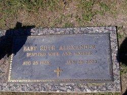 Baby Ruth Alexander