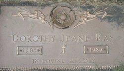 Dorothy Jeane <I>Smoak</I> Ray