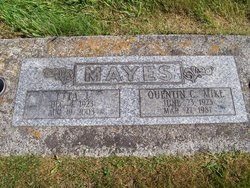 Etta Jane <I>Patterson</I> Mayes