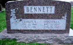 Christine Anna <I>Helmers</I> Bennett