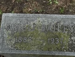 Orie J Bailey