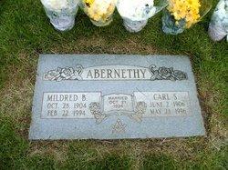 Mildred B Abernethy