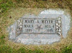 Mary A <I>Wood</I> Meyer