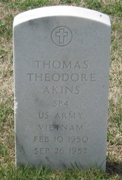 Thomas Theodore Akins
