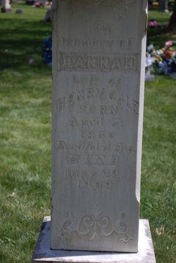 Hannah <I>Dade</I> Gale