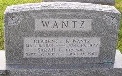 Clarence F Wantz