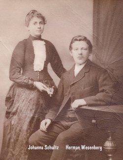Johanna <I>Schultz</I> Wesenberg
