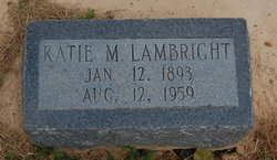 Katie M. <I>Atwood</I> Lambright