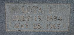 Lota Lee <I>Bass</I> Lambright