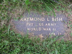 Pvt Raymond Leroy Bish