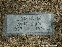 James M Scotson