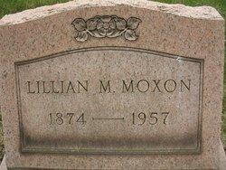 Lillian May <I>Mitchell</I> Moxon