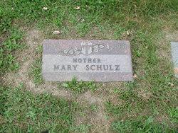 Mary <I>Fournier</I> Schulz
