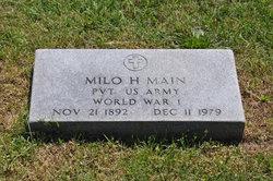 Milo Hugh Main