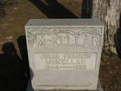 Julia Frances <I>Partlow</I> McKellar