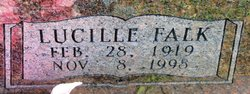 Lucille <I>Falk</I> Etheridge