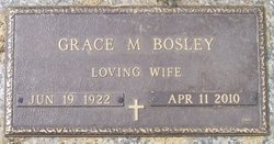 Grace M <I>Howard</I> Bosley