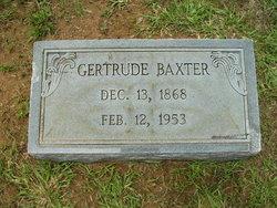 Gertrude Baxter