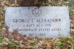 Maj George L Alexander