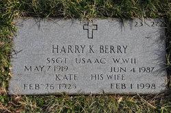 Harry K Berry